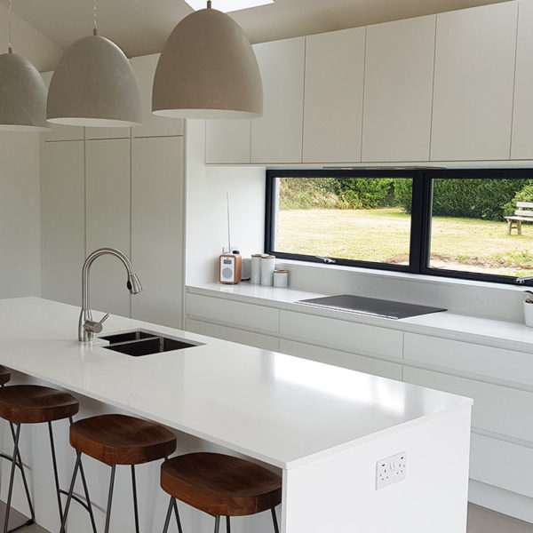 Handless Matt White Kitchen