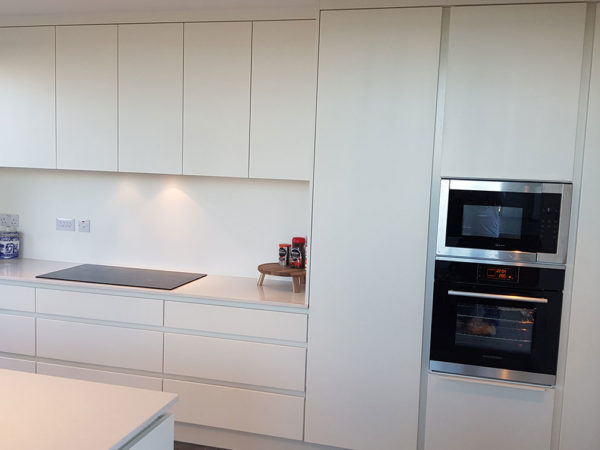 Silestone Worktops Handless Kitchen