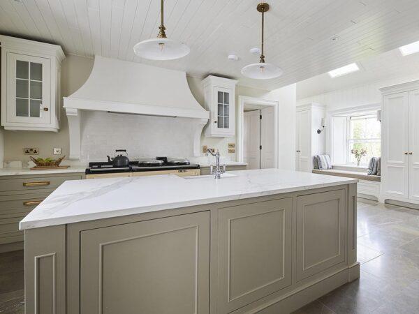 Hand Painted Inframe Kitchen